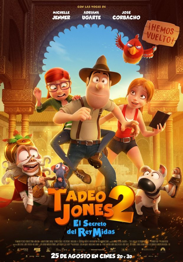 Cartel de la película 'Tadeo Jones 2'